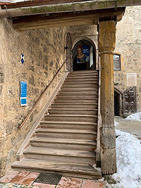 Picture: Stairs at the entrance to the State Castle Museum